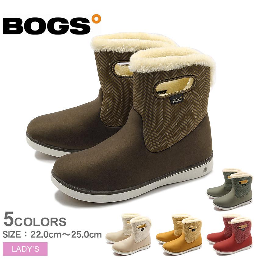BOGS ボグス ショートブーツ 全5色 ショート ブーツ ウォータープルーフ SHORT BOOTS 78410A 001 303 009 レディース