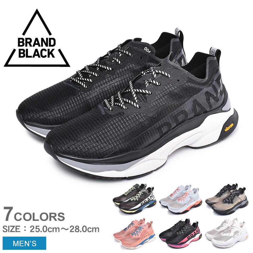 BRAND BLACK ブランド ブラック スニーカー メンズ KITE RACER カイトレーサー 427BB スポーツ ブランド ローカット 厚底 ダッドシューズ 通学 運動 靴 黒 白 ピンク おしゃれ