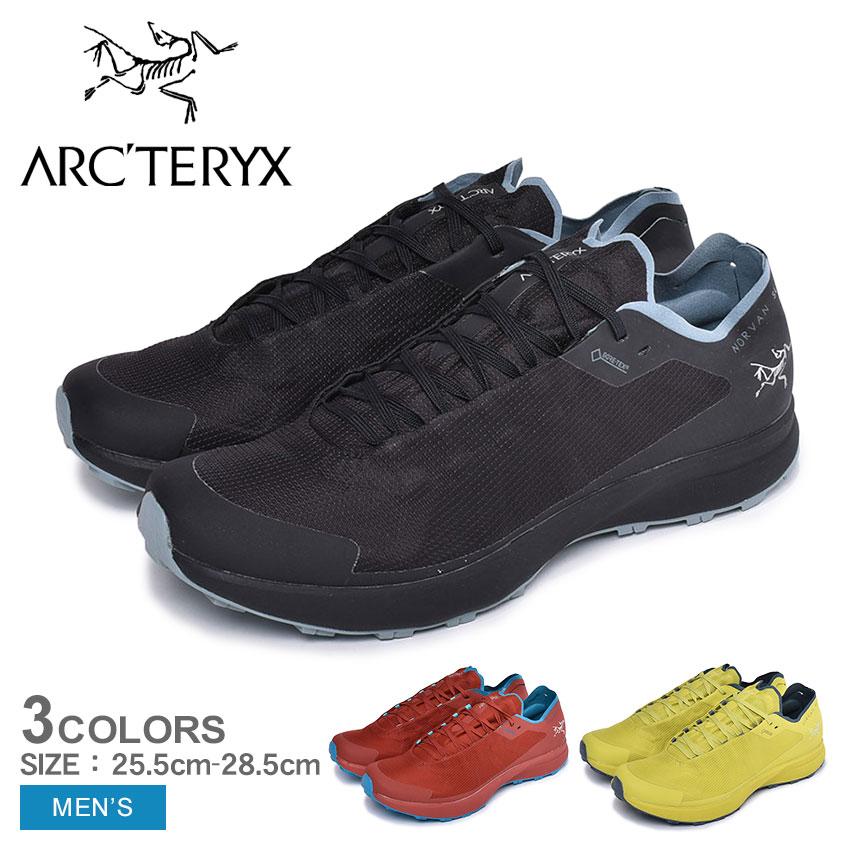 ARC'TERYX アークテリクス ランニングシューズ ノーバン SL ゴアテックス NORVAN SL GTX 24717 メンズ 靴 シューズ スニーカー アウトドア スポーツ テクニカルトレイル GORE-TEX 軽量 快適 レッド イエロー ブラック 赤 黄 黒
