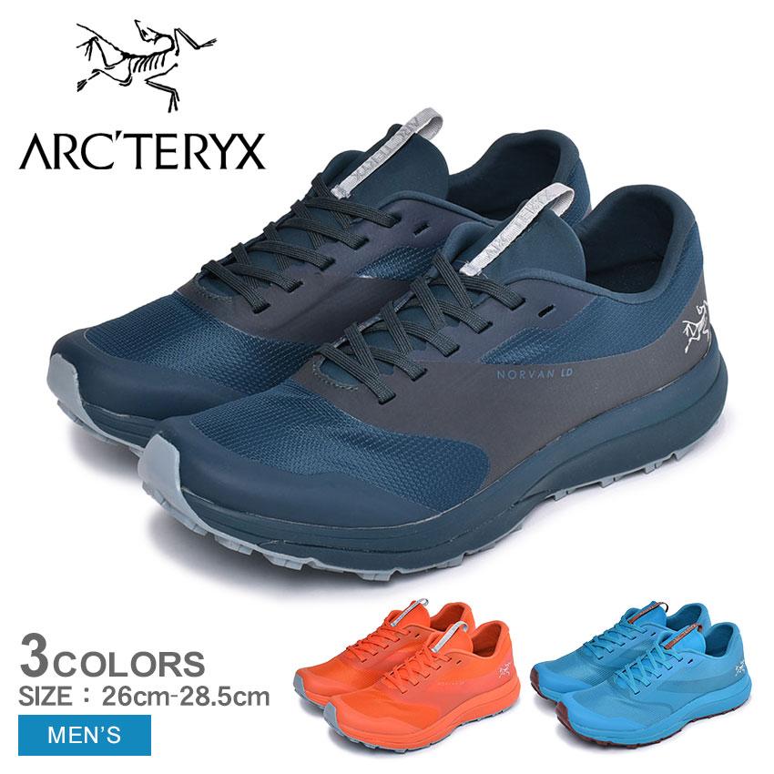 ARC'TERYX アークテリクス ランニングシューズ ノーバン LD NORVAN 22246 メンズ 靴 シューズ スニーカー アウトドア スポーツ テクニカルトレイル 軽量 快適 オレンジ ブルー ネイビー 青