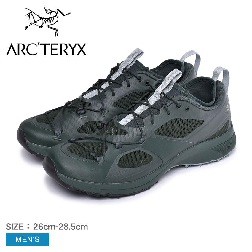 ARC'TERYX アークテリクス ランニングシューズ ノーバン VT NORVAN VT 20160 メンズ 靴 シューズ スニーカー アウトドア スポーツ テクニカルトレイル クライミング 長距離向け ビブラム カーキ