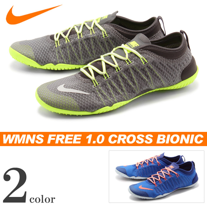 sale retailer 530e2 c0126 ... Nike running shoes NIKE sneakers Womens free 1.0 cross Bionic grey  other total 2 color ...