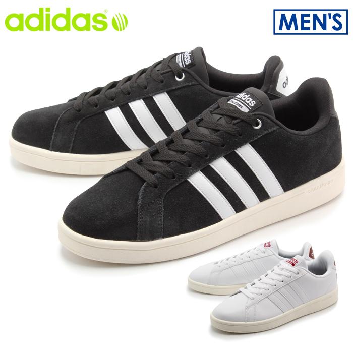 アディダス adidas neo スニーカー クラウドフォーム バルストライプス ホワイト×ホワイト 他全2色CFQ21 AW3924 AW3922 CLOUDFOAM VALSTRIPES靴 カジュアル シューズメンズ(男性用):Z-SPORTS