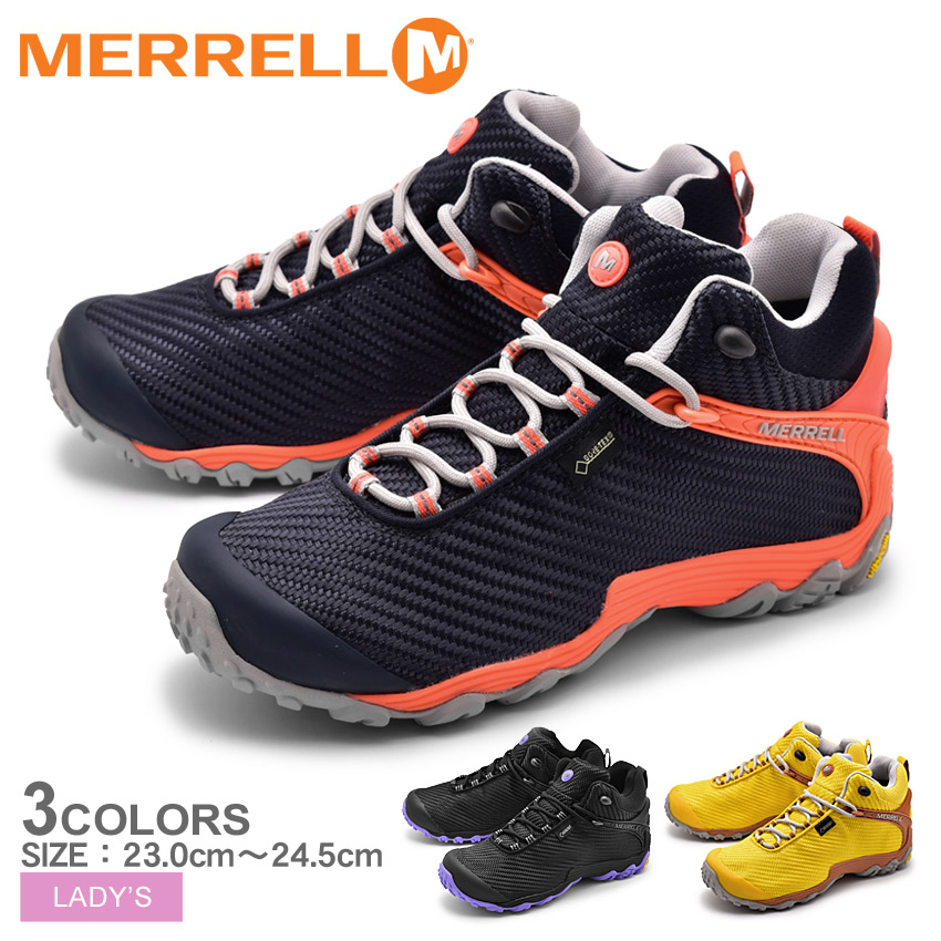 MERRELL メレル トレッキングシューズ レディース カメレオン7 ストーム ミッド ゴアテックス CHAMELEON7 STORM MID GORE-TEX J38558 J31120 J38560