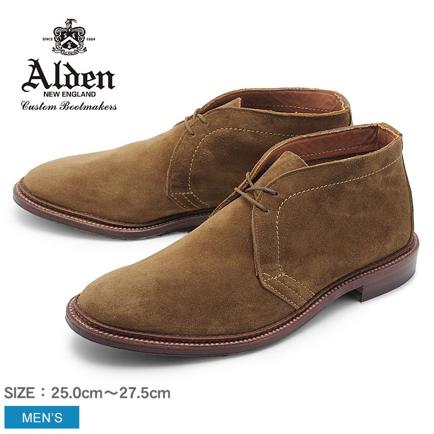 ALDEN オールデン ブーツ ブラウン アンラインド チャッカーブーツ UNLINED CHUKKA BOOT 1493 メンズ シューズ トラディショナル ビジネス フォーマル スウェ-ド 革靴 紳士靴 茶