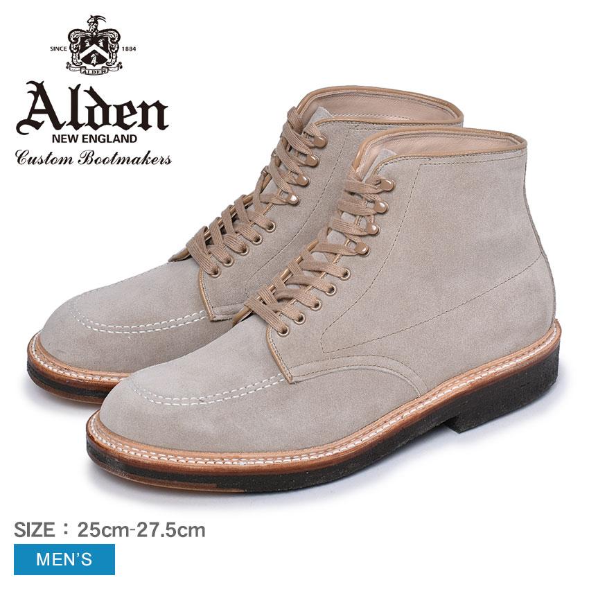 オールデン ブーツ メンズ インディーブーツ ALDEN INDY BOOTS 40554 H 靴 シューズ スエード おしゃれ 人気 トラディショナル ビジネス フォーマル 革靴 靴 紳士靴 ベージュ
