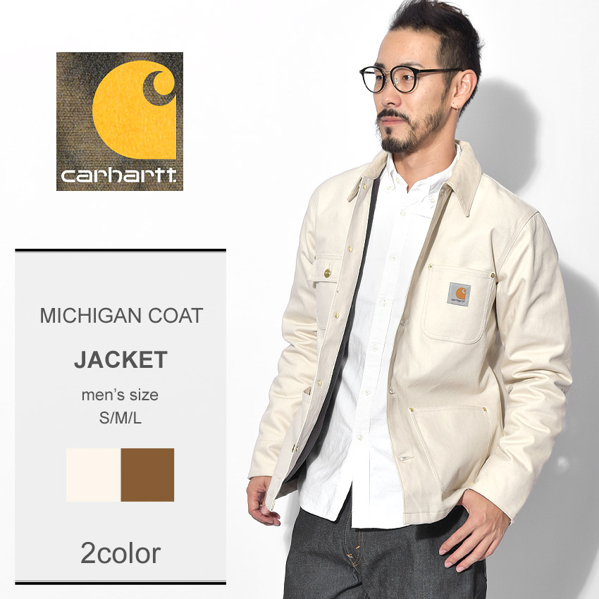 CARHARTT カーハート ジャケットミシガン コート MICHIGAN COATI015261 104 21 メンズ