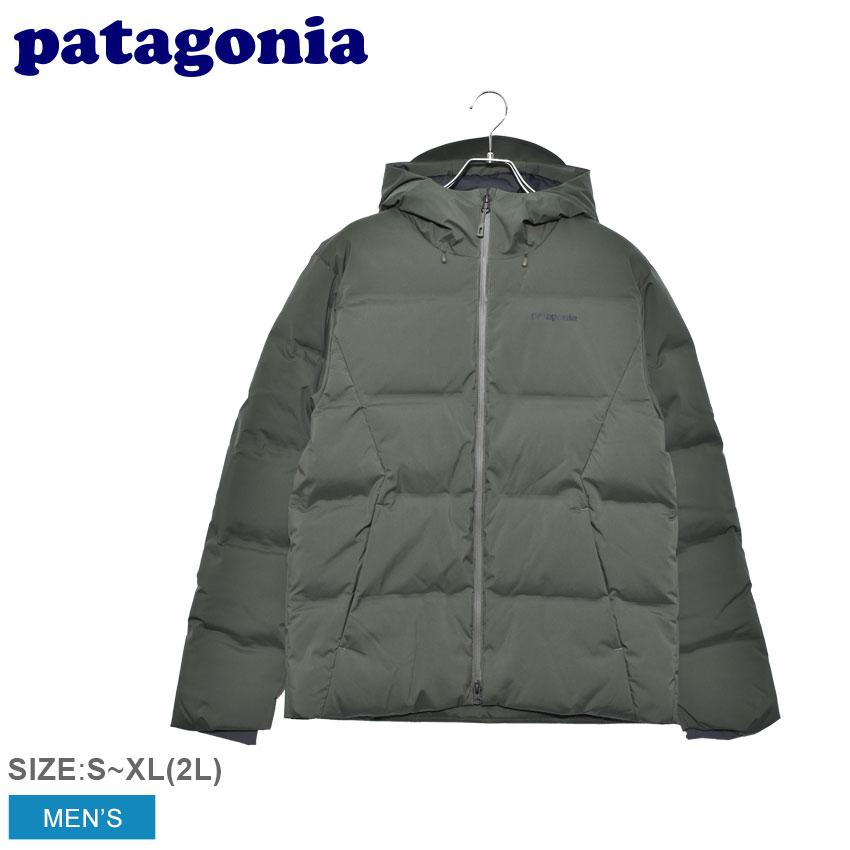 PATAGONIA パタゴニア ダウンジャケット カーキ ジャクソン グレイシャー ジャケット JACKSON GLACIER JKT 27920 メンズ ウェア アウター ダウン ジャケット パーカ カジュアル シンプル スポーティ アウトドア レジャー 上着 防寒 長袖 緑