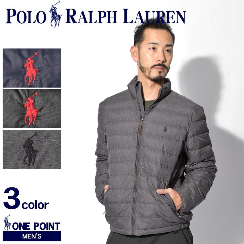 送料無料 POLO RALPH LAUREN ポロ ラルフローレン ダウンジャケット ワンポイント パッカブルダウンジャケット 710716331 003 001 005 メンズ