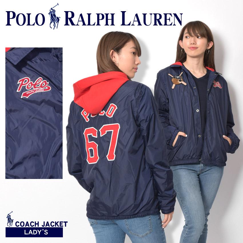 POLO RALPH LAUREN ポロ ラルフローレン ジャケット ネイビー ポリコーチジャケット 323-703279 001 レディース