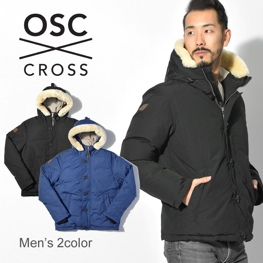 OSC CROSS オーエスシークロス ダウンジャケットボーモント BEAUMONTM41CX メンズ アウトドア