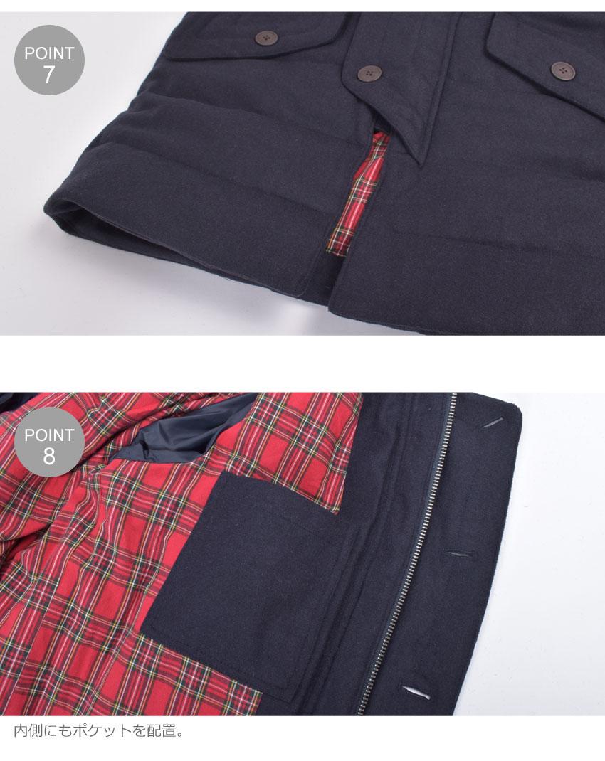 MERC メルクロンドン ジャケット メンズ RALEIGH 1119204 ウェア 上着 羽織り トップス シンプル ベーシック ロゴ ブランド クラシック プレゼント ギフト 刺繍 定番 クラシカル 贈り物 ポケット ボタン ネイビーJ5uKlT1cF3