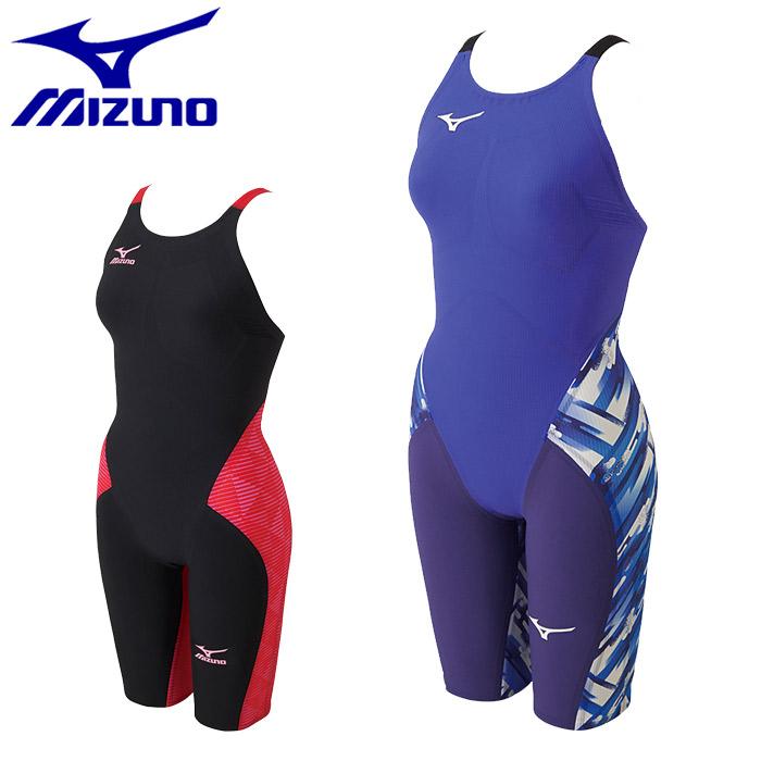 送料無料 ミズノ 競泳 水着 GX SONIC3 MR ハーフスーツ(MIZUNO GX SONICIII MR N2MG6202)スイムウェア 水泳 プール スイミング マルチレーサー FINA承認 青 黒 赤レディース 女性