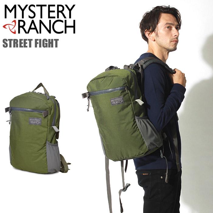 送料無料 MYSTERY RANCH ミステリーランチ バックパック ストリート ファイト バッグ ファティーグSTREET FIGHT BAG鞄 バック リュック デイパック アウトドア