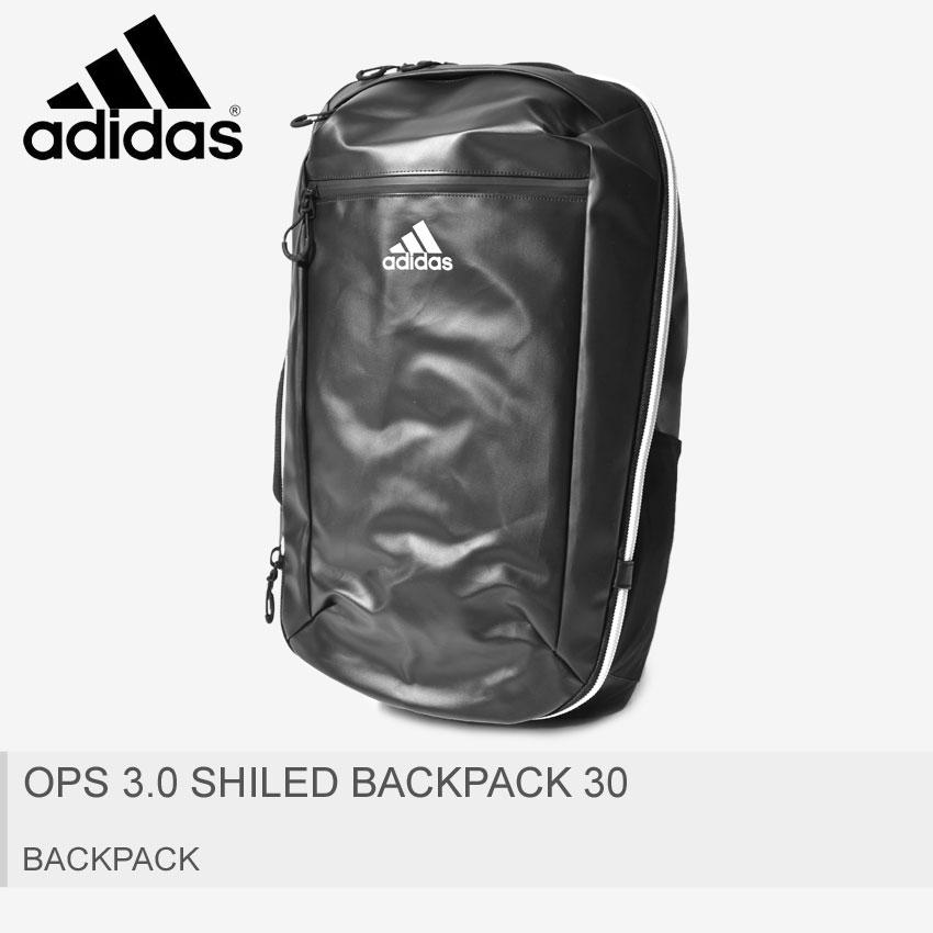 送料無料 adidas アディダス バックパック ブラック OPS 3.0 SHILED バックパック 30 OPS 3.0 SHILED BACKPACK 30 FTG43 DU9996 メンズ レディース ブランド アウトドア リュックサック スクール スポーツ カバン 学校 鞄 大容量 耐久性