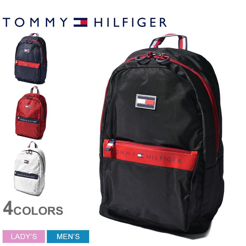 【SALE開催中】トミーヒルフィガー リュック メンズ レディース 黒 白 紺 赤 レーダー バックパック TOMMY HILFIGER RADAR BACKPACK TH-823 TC980RD9 リュックサック ロゴ ワンポイント A4サイズ 通勤 通学