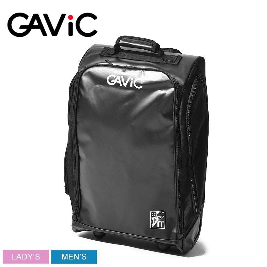 GAVIC ガビック スーツケース メンズ レディース ブラック キャリーバッグ CARRY BAG GG0106 機内持ち込み 大容量 サッカー フットサル フットボール 遠征 部活 練習 試合 旅行 スポーツ シンプル 黒