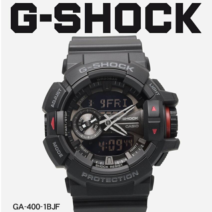 【お取り寄せ商品】 送料無料 G-SHOCK ジーショック CASIO カシオ 腕時計 ブラックGA-400GA-400-1BJF メンズ 【メーカー正規保証1年】 [11mr] 【ラッピング対象外】