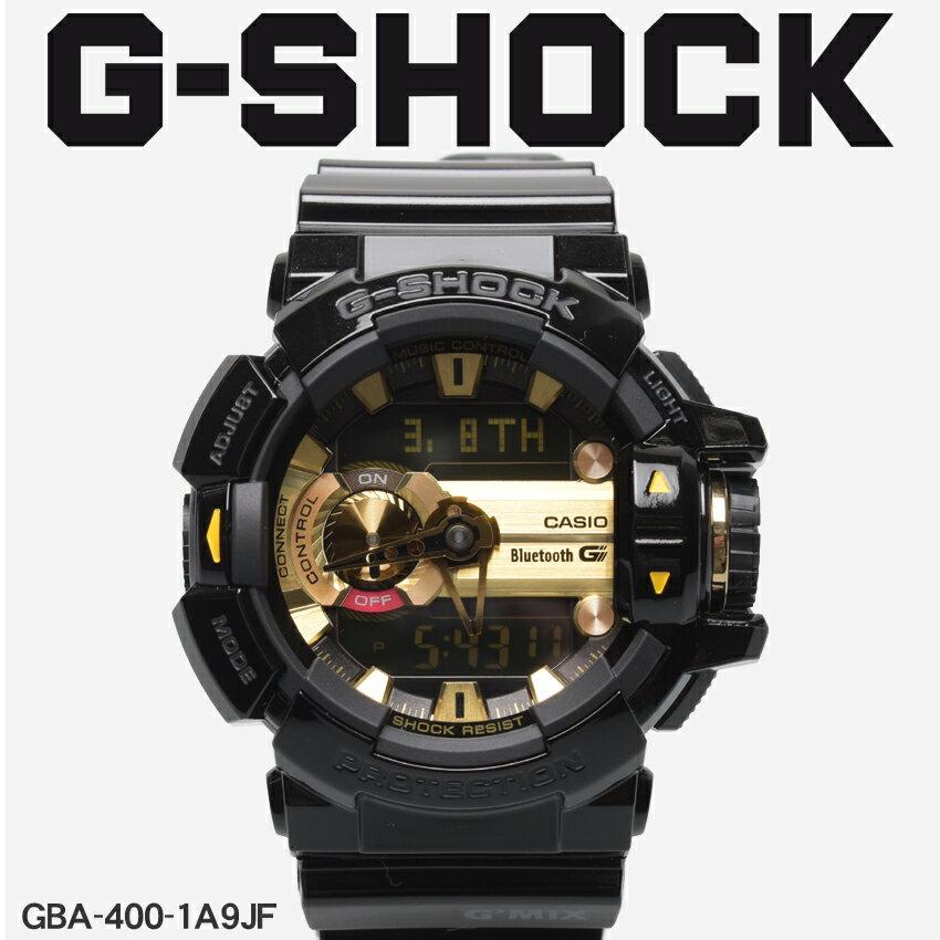 【お取り寄せ商品】 送料無料 G-SHOCK ジーショック CASIO カシオ 小物 腕時計 ブラックジーミックス G'MIXGBA-400-1A9JF メンズ 【メーカー正規保証1年】 [11mr] 【ラッピング対象外】