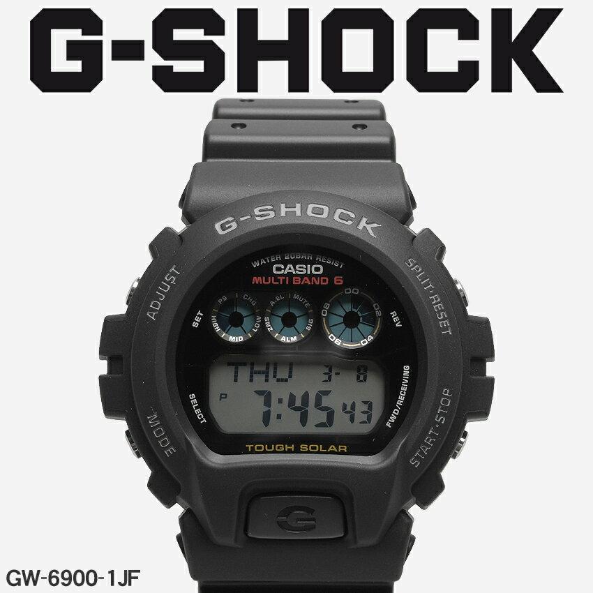 【お取り寄せ商品】 送料無料 G-SHOCK ジーショック CASIO カシオ 小物 腕時計 ブラックDW-6900GW-6900-1JF メンズ 【メーカー正規保証1年】 [11mr] 【ラッピング対象外】