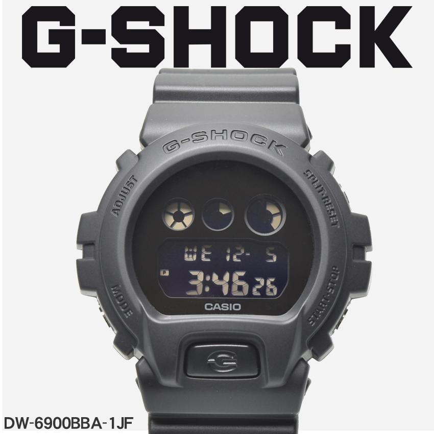 【お取り寄せ商品】 送料無料 G-SHOCK ジーショック CASIO カシオ 小物 腕時計 ブラックDW-6900BBADW-6900BBA-1JF メンズ 【メーカー正規保証1年】 【ラッピング対象外】