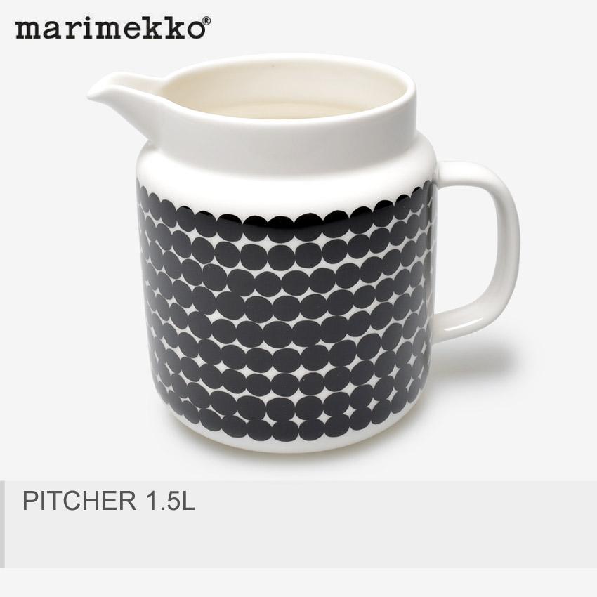 MARIMEKKO マリメッコ ピッチャー ブラックピッチャー 1.5L PITCHER 1.5L67267 190 【ラッピング対象外】