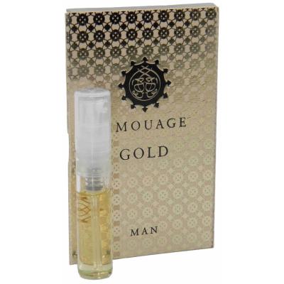 ディスカウント アムアージュ 香水 お試しチューブサンプル 送料無料 ゴールド アウトレット マン オードパルファン 2ml Amouage With Gold Sample EDP New Card Vial Man