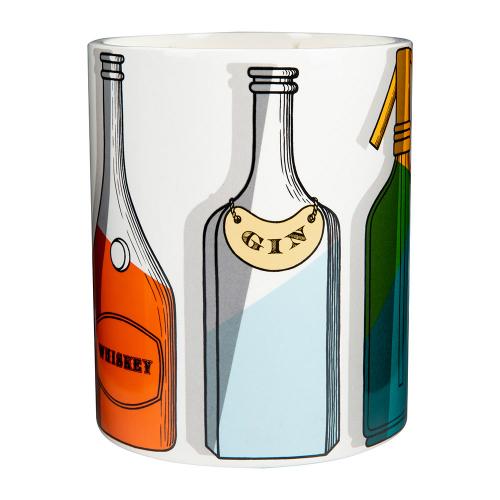 フォルナセッティ カクテル センテッド キャンドル 900g【Fornasetti Cocktail Scented Candle 900g】