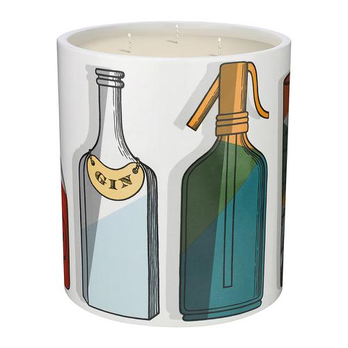 フォルナセッティ カクテル ラージ センテッド キャンドル 1.9kg【Fornasetti Cocktail Large Scented Candle 1.9kg】