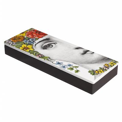 フォルナセッティ フローラ インセンス ボックス & インセンス【Fornasetti Flora Incense Box with Scented Incense】
