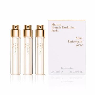 メゾン フランシス クルジャン アクア ユニヴェルサリス フォルテ オードパルファン トラベルスプレー レフィル 3x11ml【Maison Francis Kurkdjian Aqua Universalis FORTE Eau de Parfum Travel Spray Refill 3x11ml】
