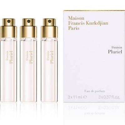 メゾン フランシス クルジャン フェミニン プルリエル オードパルファン トラベルスプレー レフィル 3x11ml【Maison Francis Kurkdjian feminin Pluriel Eau de Parfum Travel Spray Refill 3x11ml】