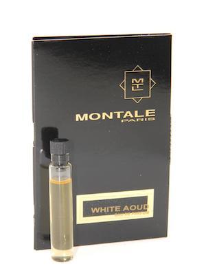 モンタル 香水 お試しチューブサンプル ホワイト 公式ショップ ウード 期間限定特別価格 オードパルファン 2ml Montale New Sample Vial Aoud With EDP Card White