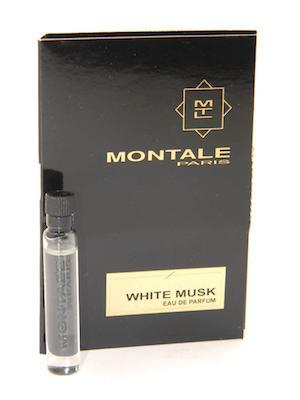 モンタル 香水 お試しチューブサンプル ホワイトムスク オードパルファン 2ml まとめ買い特価 Montale White 格安激安 With EDP Musk Card Sample New Vial
