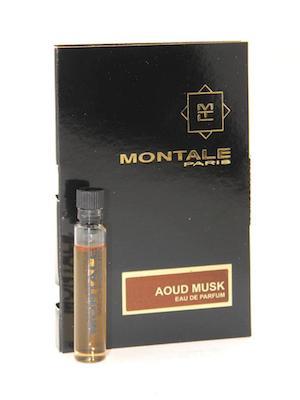 モンタル 香水 お試しチューブサンプル 誕生日/お祝い ウードムスク オードパルファン 2ml 買収 Montale Aoud With New Card Musk Vial EDP Sample
