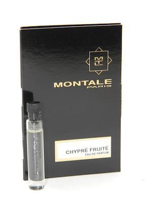 モンタル 供え 香水 お試しチューブサンプル シプレ フリュイテ オードパルファン 2ml Montale Sample ブランド品 Chypre Vial Fruite EDP New Card With