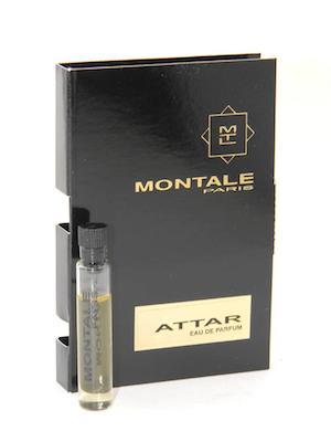 期間限定送料無料 モンタル 香水 お試しチューブサンプル アテール 新作通販 オードパルファン 2ml Montale Vial New Attar Card Sample EDP With