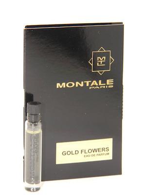 モンタル 香水 お試しチューブサンプル ゴールドフラワーズ オードパルファン お得クーポン発行中 2ml Montale Gold Card Vial New EDP Flowers 新作製品 世界最高品質人気 With Sample
