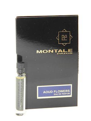 モンタル 至上 香水 お試しチューブサンプル ウードフラワーズ オードパルファン 2ml Montale おトク Aoud Flowers EDP Sample With Card Vial New