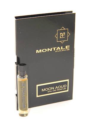 モンタル 香水 お試しチューブサンプル ムーンウード オードパルファン 2ml Montale Moon Aoud With Card 激安格安割引情報満載 Vial EDP New 即納 Sample