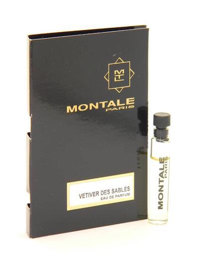 モンタル 香水 お試しチューブサンプル ベチバー 税込 デ 販売実績No.1 サーブル オードパルファン 2ml Montale Sample New Card With Vial EDP Sables Des Vetiver