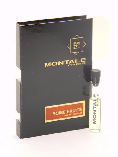モンタル EDP 香水 卓出 お試しチューブサンプル ボワーズ フリュイテ オードパルファン 驚きの価格が実現 2ml Montale Boise De Card Fruite Sample Eau Parfum Vial New With