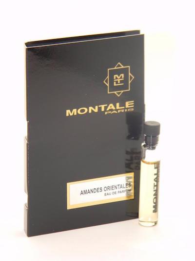 モンタル EDP 香水 お試しチューブサンプル アマンデス 交換無料 オリエンタルズ オードパルファン 2ml Montale Sample Eau De Card With ショッピング Vial Parfum Orientales Amandes