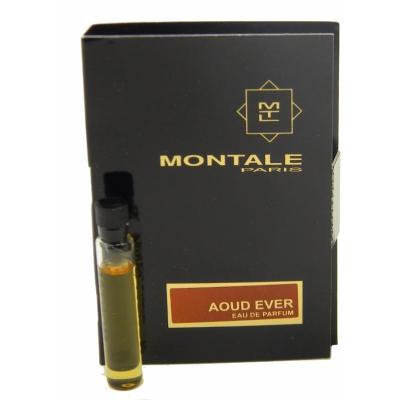 モンタル 香水 お試しチューブサンプル ウード 保証 激安 エバー オードパルファン 2ml Montale EDP Vial Card New Ever With Sample Aoud