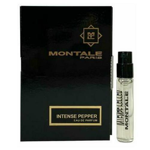 モンタル アントンス ペッパー 信用 オードパルファン お試しチューブサンプル 2ml 期間限定お試し価格 Montale Intense Sample Card EDP Pepper With Vial New