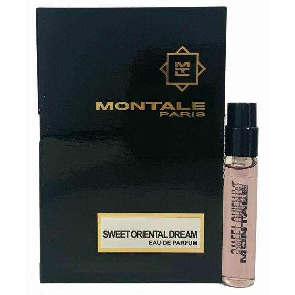 モンタル 香水 お試しチューブサンプル スウィート 迅速な対応で商品をお届け致します オリエンタル ドリーム オードパルファン 2ml Montale Vial Dream EDP Card Sweet With Sample Oriental 新着 New