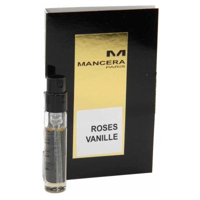 マンセラ ローズ バニラ お試しチューブサンプル ローズヴァニーユ オードパルファン 2ml ランキングTOP5 Mancera EDP Card Vial Roses With Vanille Sample 引き出物 New