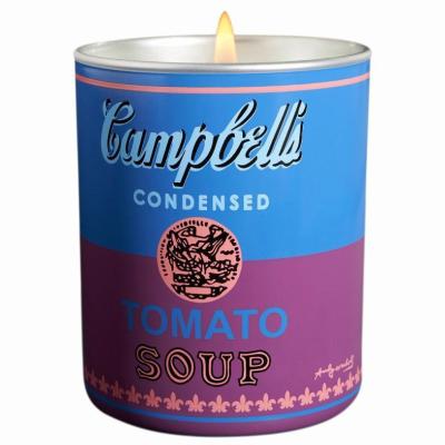 アンディ ウォーホール キャンベル ブルー パープル キャンドル 140g【Andy Warhol CAMPBELL Blue Purple Candle 140g / 5oz】