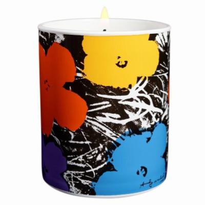 アンディ ウォーホール フラワー バイオレット キャンドル 140g【Andy Warhol Flower Violet Candle 140g / 5oz】