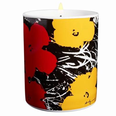 アンディ ウォーホール フラワー レッド イエロー キャンドル 140g【Andy Warhol Flower Red Yellow Candle 140g / 5oz】